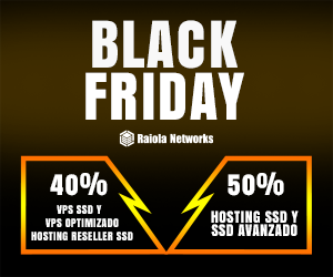 BlackFriday 2019 de Raiola Networks