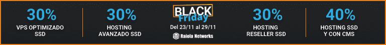 BlackFriday 2020 de Raiola Networks