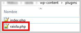 crear plugin wordpress un archivo