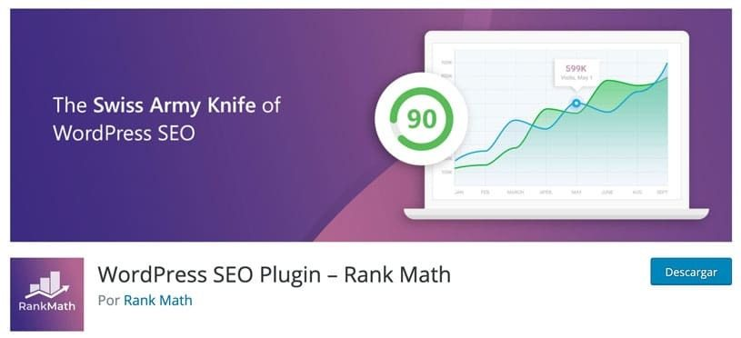 Wordpress SEO Plugin - Rank Math