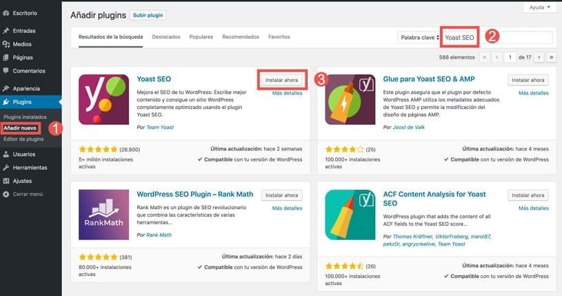 seo yoast wordpress