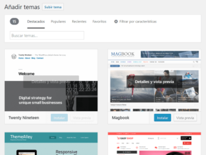 Blogger o WordPress - Temas WordPress