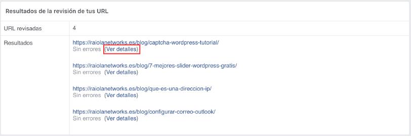 borrar cache post facebook
