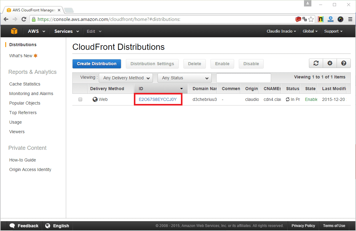 cloudfront wordpress