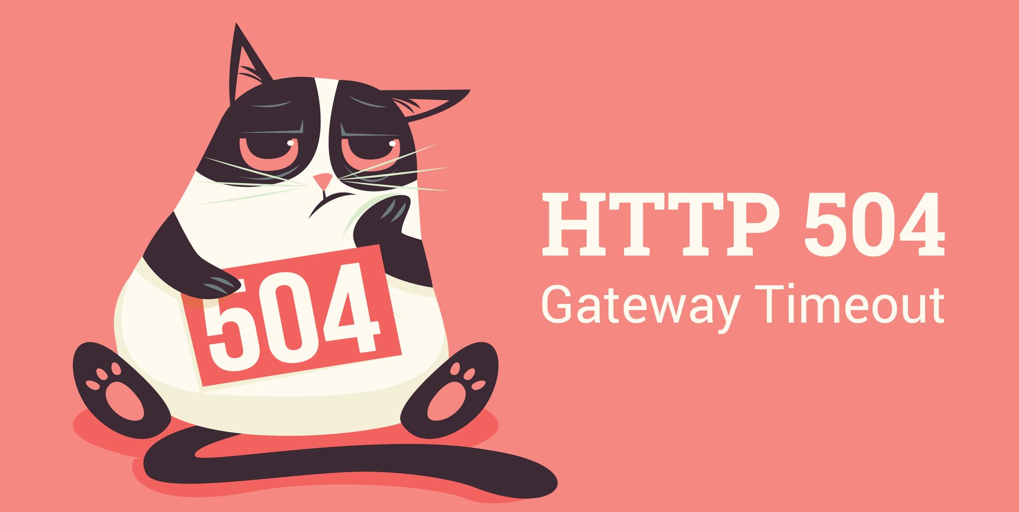 Error 504 Gateway Timeout: qué es y cómo librarte de él
