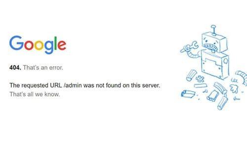 Error 404 perjudican al Crawl Budget